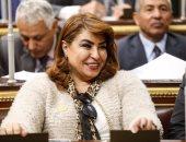"""النائبة غادة عجمى: """"محدش يقدر يفتت مصر.. وقطر مسيرها ترجع لعقلها"""""""