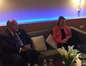 سامح شكرى يشارك فى اجتماع رباعى بالأردن لدعم عملية السلام
