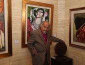 صور.. جاليرى بيكاسو يفتتح المعرض الفنى لـ جورج بهجورى