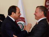 السيسى يتوجه إلى الأردن غداً ويلتقى الملك عبد الله الثانى