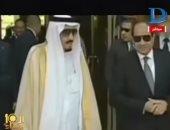 """بالفيديو..""""شعبولا"""" يغنى للمصالحة المصرية والسعودية:""""خادم الحرمين بنحبك كلنا"""""""