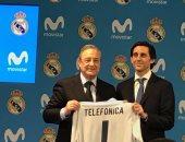 بالصور.. نجوم ريال مدريد يشهدون توقيع عقد رعاية جديد مع شركة اتصالات