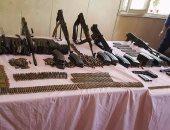 ضبط 3 متهمين بحوزتهم أسلحة نارية بالفيوم