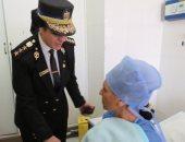 بالصور..ضابطات حقوق الانسان يزرن السيدات بالمعهد القومي للأورام