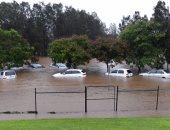 """بالصور..الإعصار """"ديبى"""" يتحول إلى سيول بعد أمطار غزيرة فى أستراليا"""