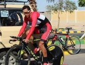 """اتحاد الدراجات: إسلام ناصر قطع 180 """"كيلو"""" قبل سفره لجنوب أفريقيا"""