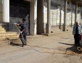 محافظة الجيزة تنفذ حملات لرش بؤر تجمعات القمامة ومكافحة الحشرات