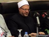 مفتى الجمهورية: الشخصية المصرية لا تعرف التباين الطائفى والجنوح إلى العنف