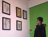 14 أبريل افتتاح المعرض الأول لمعاذ فنان محطة جامعة القاهرة