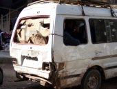 سيارات الأجرة متهالكة وبدون لوحات معدنية بفيصل