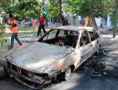 تنظيم داعش الإرهابى يعلن مسئوليته عن تفجير سيارة بمدينة القامشلى السورية