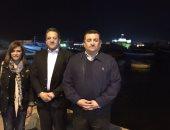 بالفيديو والصور..برلمانيون فى جولة ليلية بكورنيش الإسكندرية برفقة وزير الآثار