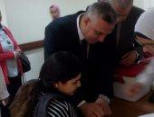 إنطلاق حملة تطعيم شلل الاطفال بالاسكندرية