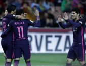 ملخص وأهداف فوز برشلونة على غرناطة 4 - 1 فى الليجا