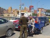 ضبط وتحرير 380 مخالفة مرورية فى حملة مكبرة بالغربية
