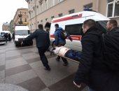 ننشر أول صور للمصابين فى حادث انفجار محطة مترو سان بطرسبرج الروسية