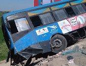 التحقيق مع سائق الأتوبيس المتسبب فى حادث تصادم مدينة نصر