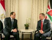 السيسى يبحث هاتفيا مع العاهل الأردنى الأوضاع الإقليمية والأزمات بدول المنطقة