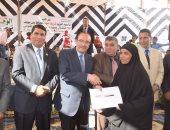 مؤتمر تأييد السيسى بالجيزة يكرم أمهات الشهداء ويدعو للمشاركة بالانتخابات