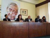 بالصور.. جامعة مدريد تحتفل بصدور ديوان عبد الرحمن الأبنودى بالأسبانية