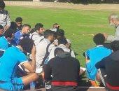 مختار مختار يحذر لاعبى الإنتاج الحربى من مفاجآت كأس مصر