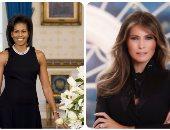 ميلانيا ترامبVSميشيل أوباما.. ماذا تقول الصورة الرسمية للسيدة الأولى عنها؟