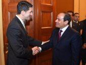 استقبال حافل للرئيس السيسى فى الكونجرس