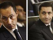 """استمرار التحفظ على أموال علاء وجمال مبارك فى قضية """"الكسب غير المشروع"""""""