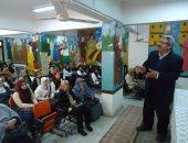بالصور .. جامعة طنطا تنظم ندوات تثقيفية لطلاب المدارس الثانوية والإعدادية