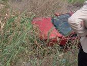 سقوط سيارة نقل فى ترعة بإسنا جنوب الأقصر