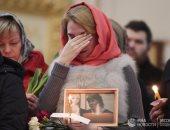 """بالصور من """"بطرسبورج"""".. روسيا تودع ضحايا الإرهاب من الكنائس"""
