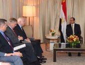 ماكين يسأل عن حقوق الإنسان.. والسيسي: نحترم الحريات وفقا للدستور المصرى