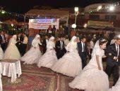 محافظ أسيوط يشهد حفل زفاف جماعى لـ 19 من العرائس الأيتام