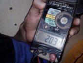 شكوى من ارتفاع جهد الكهرباء لأكثر من 300 فولت فى مدينة ناصر بسوهاج