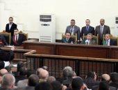 """تأجيل محاكمة """"بديع"""" و738 متهما بـ""""فض اعتصام رابعة"""" لـ9 مايو"""