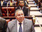 وكيل مجلس النواب يستقبل رئيس برلمان صربيا بمطار القاهرة الدولى