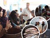 """فتح منافذ المجمعات لطرح منتجات الأسماك المملحة بأسعار مخفضة.. التموين: الرنجة بـ20 جنيهًا للكيلو والفسيخ بـ 100 وسمك باسا أحمر بـ30 والماكريل بـ25 والمكرونة بـ22.. و""""حماية المستهلك"""" يكثف حملاته الرقابية"""