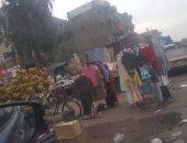قارئة تشكو من سيطرة الباعة الجائلين على ميدان الحى العاشر بمدينة نصر