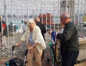 بالصور.. ميناء بورسعيد السياحى يستعيد نشاطه باستقبال 1280 سائحًا
