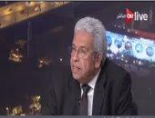 عبد المنعم سعيد: لا يوجد طرف فى العالم خلاف مصر يستطيع حل المشهد السورى