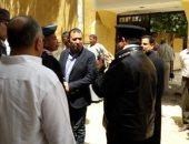 بالصور.. محافظ الأقصر ومدير الأمن يتفقدان كنائس وأديرة المحافظة