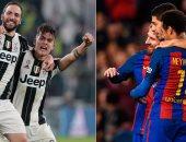التشكيل المتوقع فى لقاء أبطال أوروبا.. يوفنتوس يواجه برشلونة بـ3 مهاجمين
