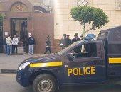 بالصور.. تشديدات أمنية بمحيط كنائس بورسعيد تزامناً مع احتفالات أحد السعف