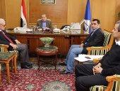 محافظ دمياط يلتقى مفوض شركة إفك الصينية بمصر