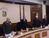 بالصور.. الحكومة: الدولة تحشد كافة إمكاناتها لاستكمال معركتها ضد الإرهاب