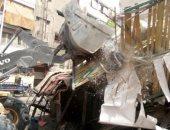 حملات لإزالة الإشغالات غرب الإسكندرية وبدء رصف عزبة البحر بالمنتزه