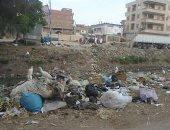 """بالصور.. تراكم القمامة وتهالك معدات النظافة فى قرية """"الستامونى"""" بالدقهلية"""