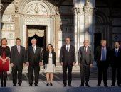 بالصور.. مجموعة السبع تعقد اجتماعا موسعا حول أزمة سوريا فى ايطاليا