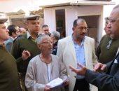 بالصور.. لجنة من قطاع حقوق الإنسان بالداخلية تتفقد أقسام الشرطة بالدقهلية