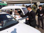تحرير 133 مخالفة مرورية وضبط 51 هاربا من تنيفذ أحكام بشمال سيناء
